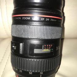 Об'єктив Canon zoom lens 24-70mm 1: 2.8 L USM