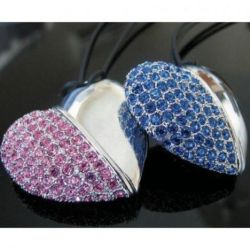 Jewelry gift flash drives for women
