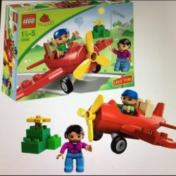 LEGO aeronava duplo