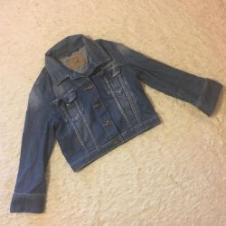 Jeans shortened, size M