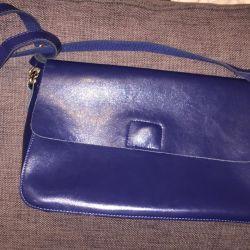 New leather shoulder bag