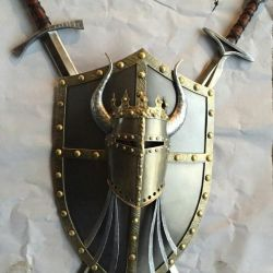 Çapraz kılıç pan lamba