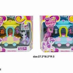 Новые наборы Пони и карета