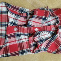 Μοντέρνο πουκάμισο ελέγχου