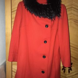 The coat is red. Size 42-44