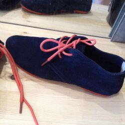 Spor ayakkabı ayakkabı şehriye süet ayakkabı