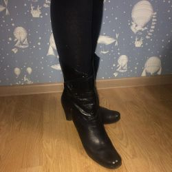 Women's Boots Spring Autumn Natures Skin