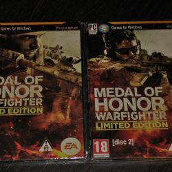Medal Of HONOR 'WarFighter' (game on 2 disks)