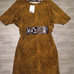 Leopard dress. New