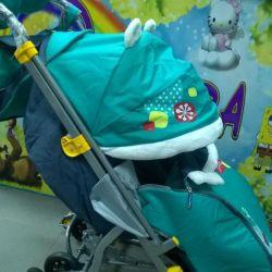 Sledge wheelchair Nka 7-2 new