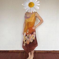 Сарафан батик з натурального шовку