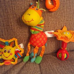 Tiny Love rattle toys (package)