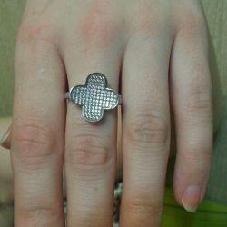 οξυγόνο δαχτυλίδι μέγεθος κοσμήματος είδος17.5