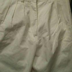 Pantaloni noi din bumbac