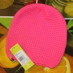 Ροζ καπέλο.