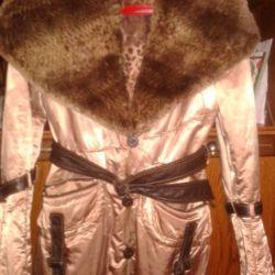 Μεγάλο σακάκι για το φθινόπωρο και το χειμώνα