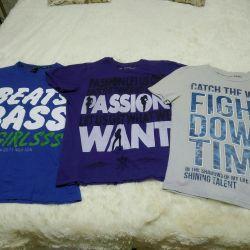 ΝΕΑ μπλουζάκια για άνδρες 48-50-52r