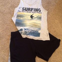 Shorts and a t-shirt