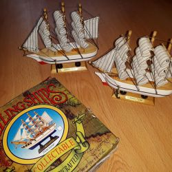Collectible boats