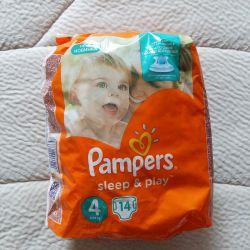 Pampers Sleep & Play bebek bezleri