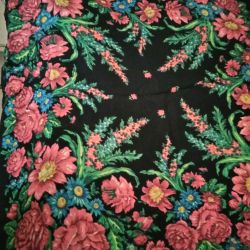 Scarf 90 * 90 pure wool