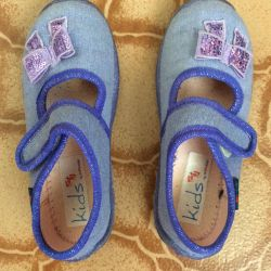 New textile slippers 26