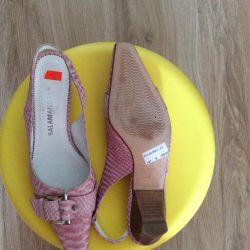 New leather sandals Salamander 3 1/2