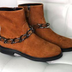 Casadei boots nubuck new