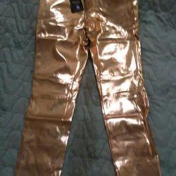 Χρυσά παντελόνια