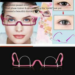 Glasses for correction of the upper eyelid