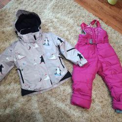 Kızlar için kış seti