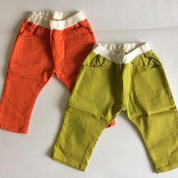Pantaloni noi d / malch.78- 90.88-100 cm