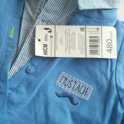 New children's jacket, t-shirt, polo, children's things