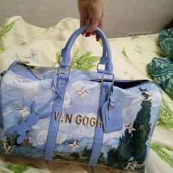 Traveling sports bag LV Van Gogh
