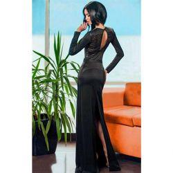 Yere yeni uzun elbise
