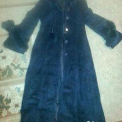 Пальто теплое 46-48 размер