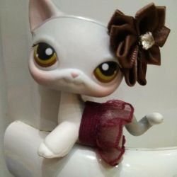 LPS pet shop cat stanchion😸