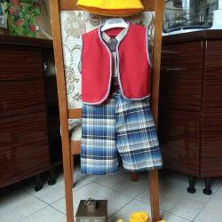 Handmade New Year's Dwarf Costume