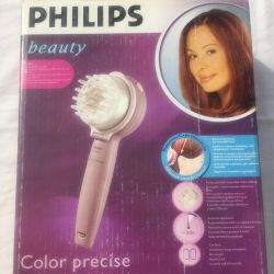 Device for dyeing hair
