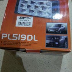 Lights fog DLAA PL-519DL W, for VAZ 2110