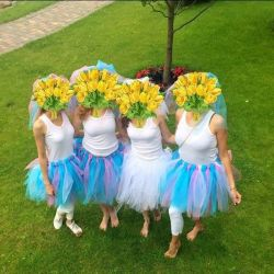 Tulle skirts for hen party