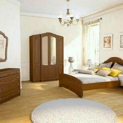 Σετ ύπνου Olga / κρεβάτι / τουαλέτα / τουαλέτα