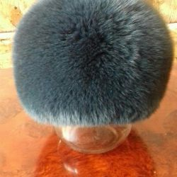 New fox hat.