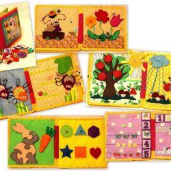 Educational book Handmade toys