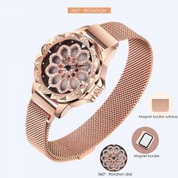 Wristwatch Flower Diamond new