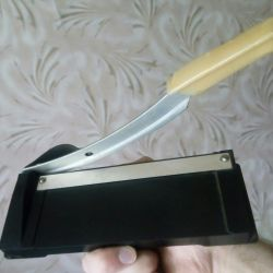 Cutter for photo and paper of the USSR