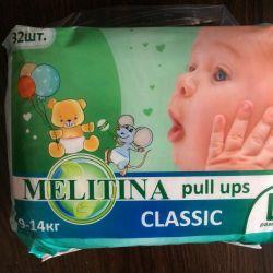 Çocuk bezi-Külot Melitina