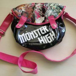 YENİ Kızlar için Monster high bag