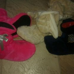 Slippers - children's boots. Newest