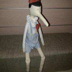Tilda-Pinocchio doll